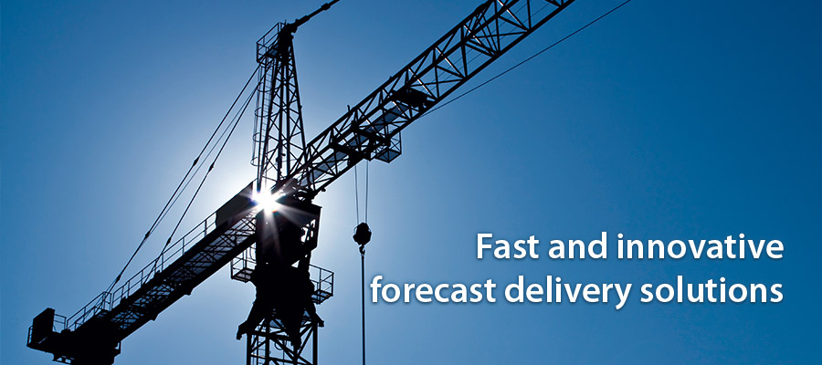 Fast and innovative forecast delivery solution